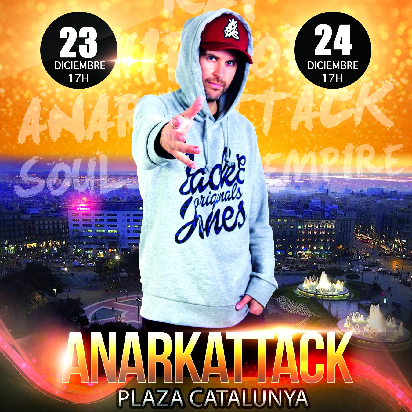 Actuación de rap plaza catalunya ritme del carrer